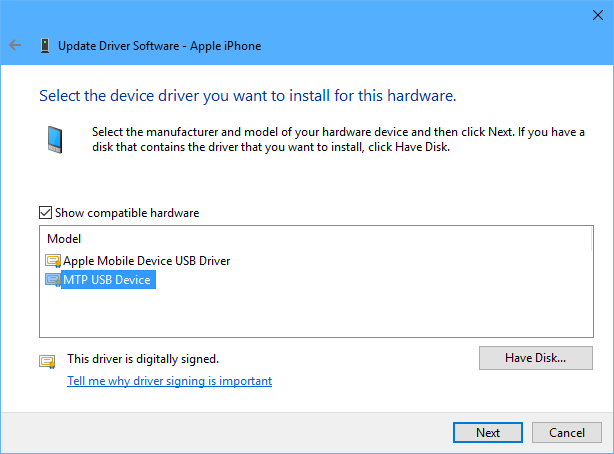 Download drivers for USB Device