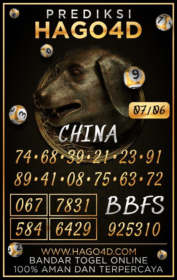 Hago4D - Bocoran Togel China