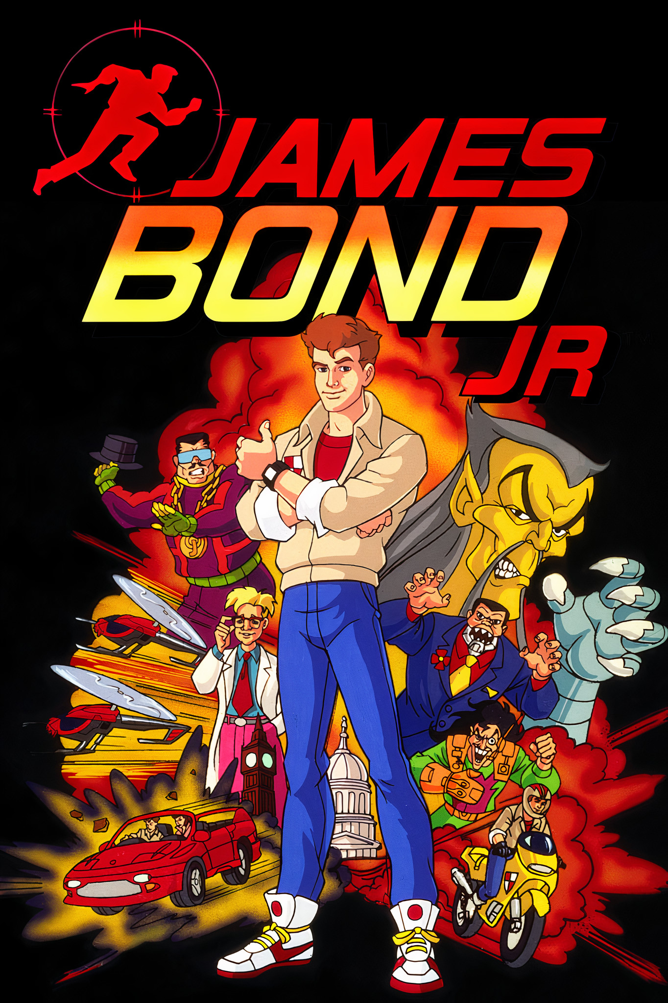 descargar james bond jr 1991 latino