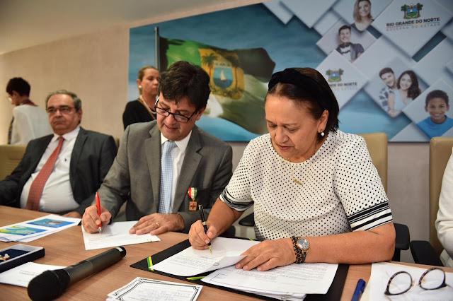 Governo assina com Ministério da Saúde atos para liberação de R$ 65 milhões
