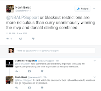 NBA League Pass-Twitter Feedback 2