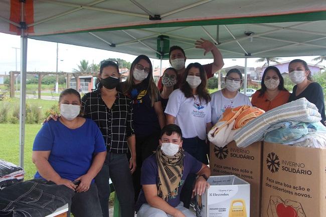 A solidariedade dos moradores da Ilha no sucesso do Drive Thru realizado no sábado 26/06 pelo Fundo Social de Solidariedade
