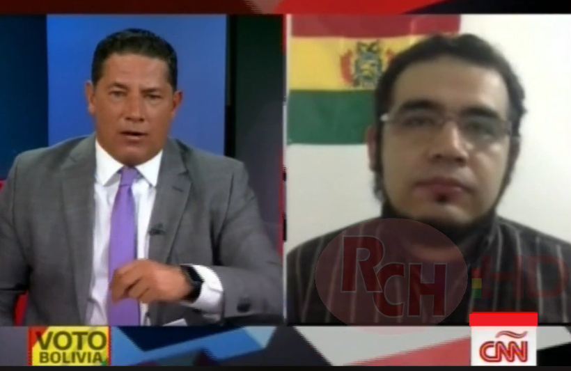 Edgar Villegas, ingeniero y programador de sistemas, en el programa Conclusiones de CNN con Fernando del Rincón / CAPTURA PANTALLA