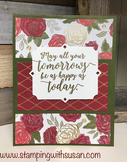 Stampin' Up!, Christmastime is Here, Peaceful Boughs, www.stampingwithsusan.com