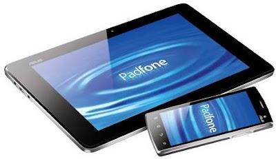 Smartphone Padfone ASUS: o smartphone que vira tablet e notebook
