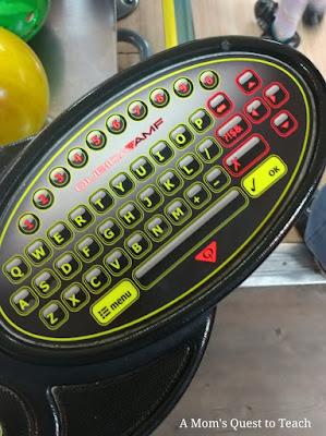 bowling alley keyboard