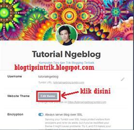 Cara Mendaftar Memasang Kode Tracking Google Analytics Pada Tumblr Blog