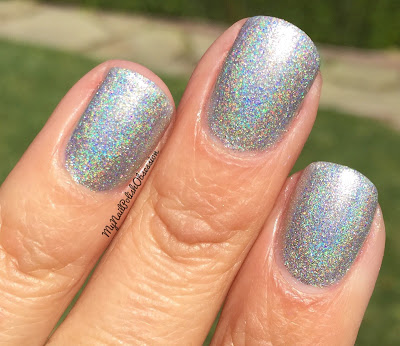 Addicted To Holos, April 2016; Sweet Heart Polish Over The Rainbow