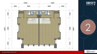 Denah Lantai FBL 7 - 2nd Floor