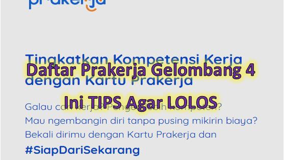 Login Www Prakerja Go Id Daftar Kartu Prakerja Online Gelombang 4 Go Bizz
