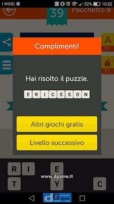 Mega Quiz soluzione pacchetto 8 livelli 39-60