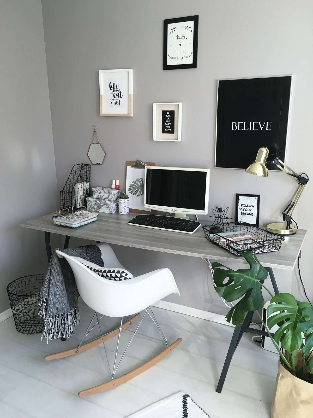 deco mon bureau et mes trouvailles new co chez zeeman pauline dress blog mode lifestyle. Black Bedroom Furniture Sets. Home Design Ideas