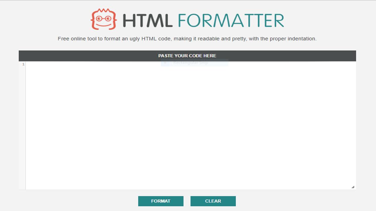 Cara Merapihkan Struktur Kode HTML/CSS Hasil Kompresi