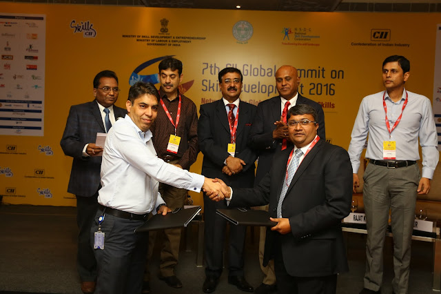 Telangana State Draft Skill Policy Introduced during 7th CII Global Summit on Skill Development 2016