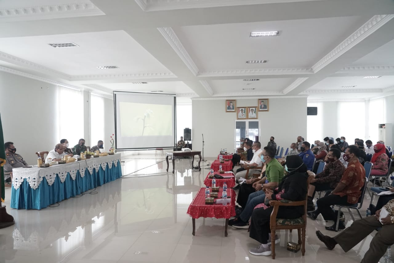 Walikota Tebingtinggi Melakukan Rakor Dengan Satgas Covid-19 Membahas Terkait Belajar Tatap Muka