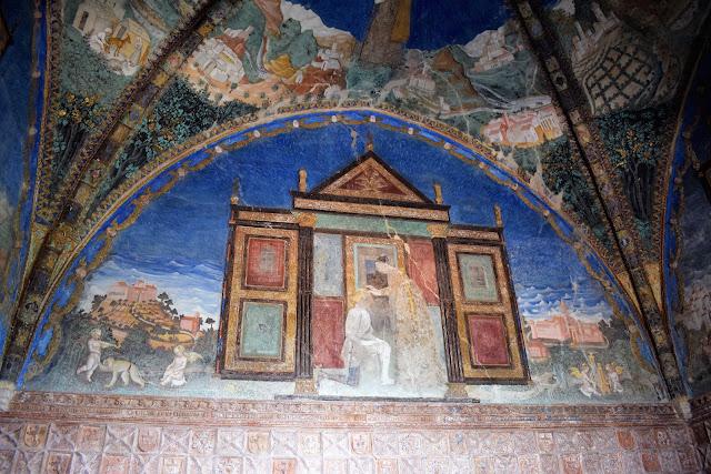 Castello di Torrechiara-Camera d'Oro -