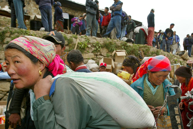 Orng orang Sherpa