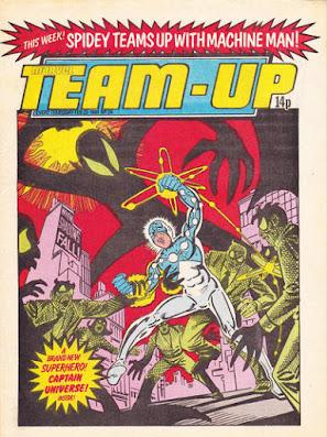 Team-Up #24, Marvel UK, Captain Universe