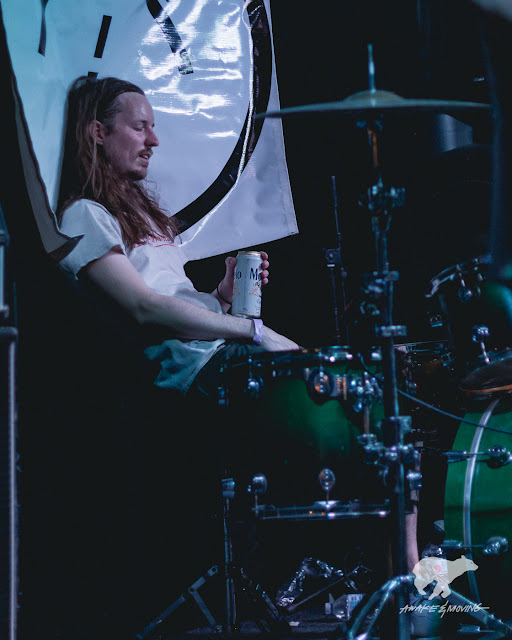Drumming is exhausting.
