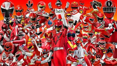 Super Sentai 45th Anniversary All Red Ranger