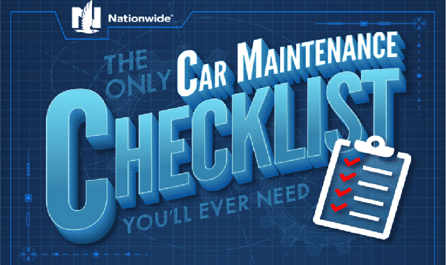 The Only Car Maintenance Checklist You'LL Ever Need #infographic