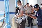 Antisipasi Virus Korona, Pelabuhan Sabang Disemprot Desinfektan