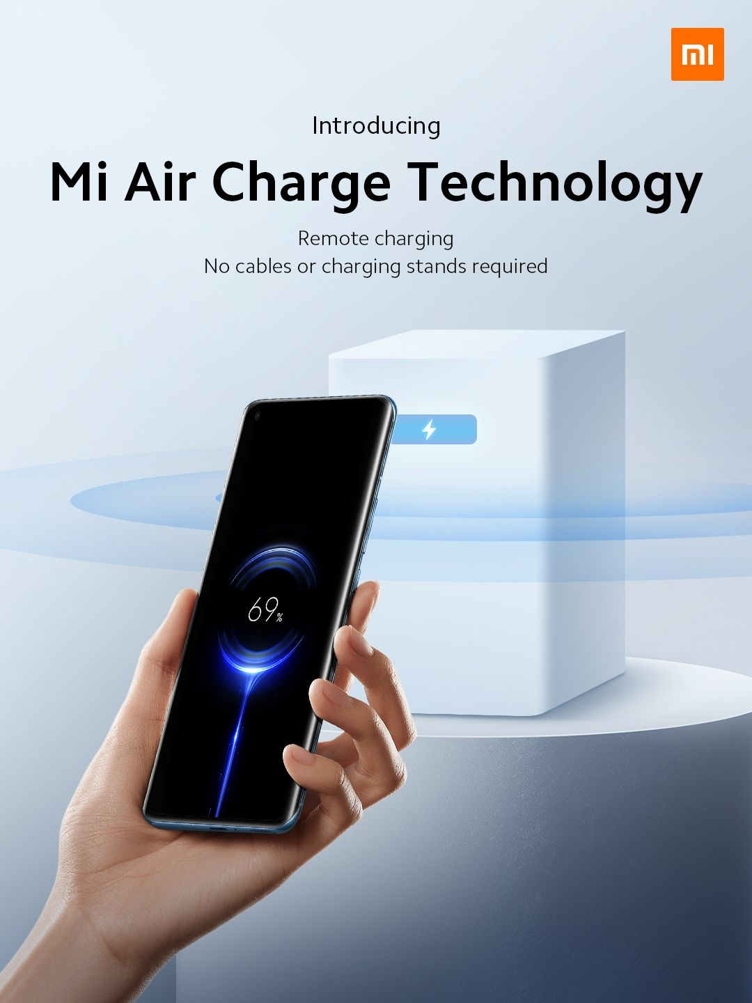 Xiaomi introduced Mi Air Charge Technology