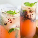 NON ALCOHOLIC BLACKBERRY MOJITO