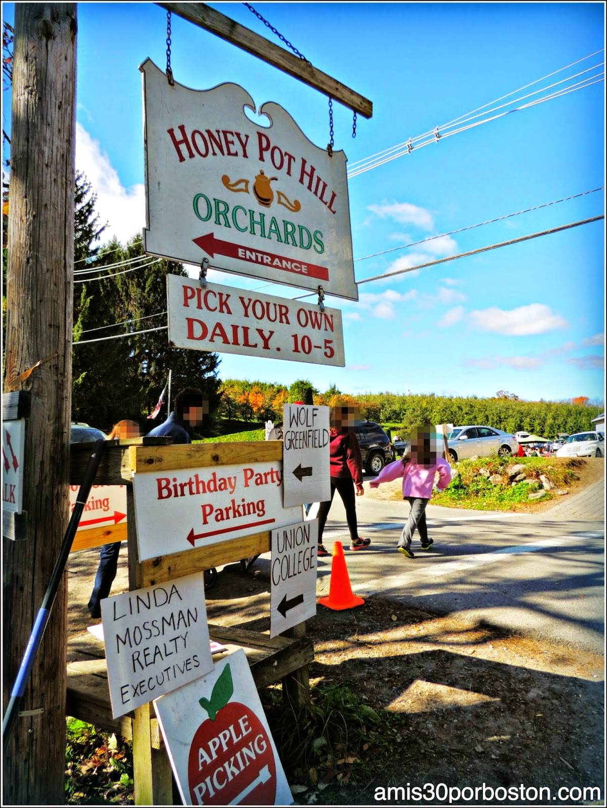 Cosecha de Manzanas: Honey Pot Hill Orchards