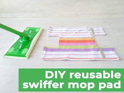 DIY Reusable Swiffer Mop Pads