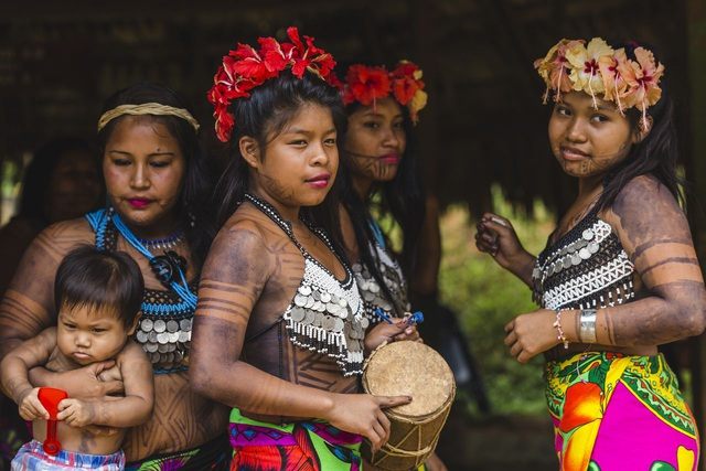 Strangely, a tribe likes to tattoo themselves for beauty