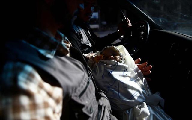 Amira tewas dalam perang sipil Suriah yang terjadi di Douma, sebelah timur Damascus