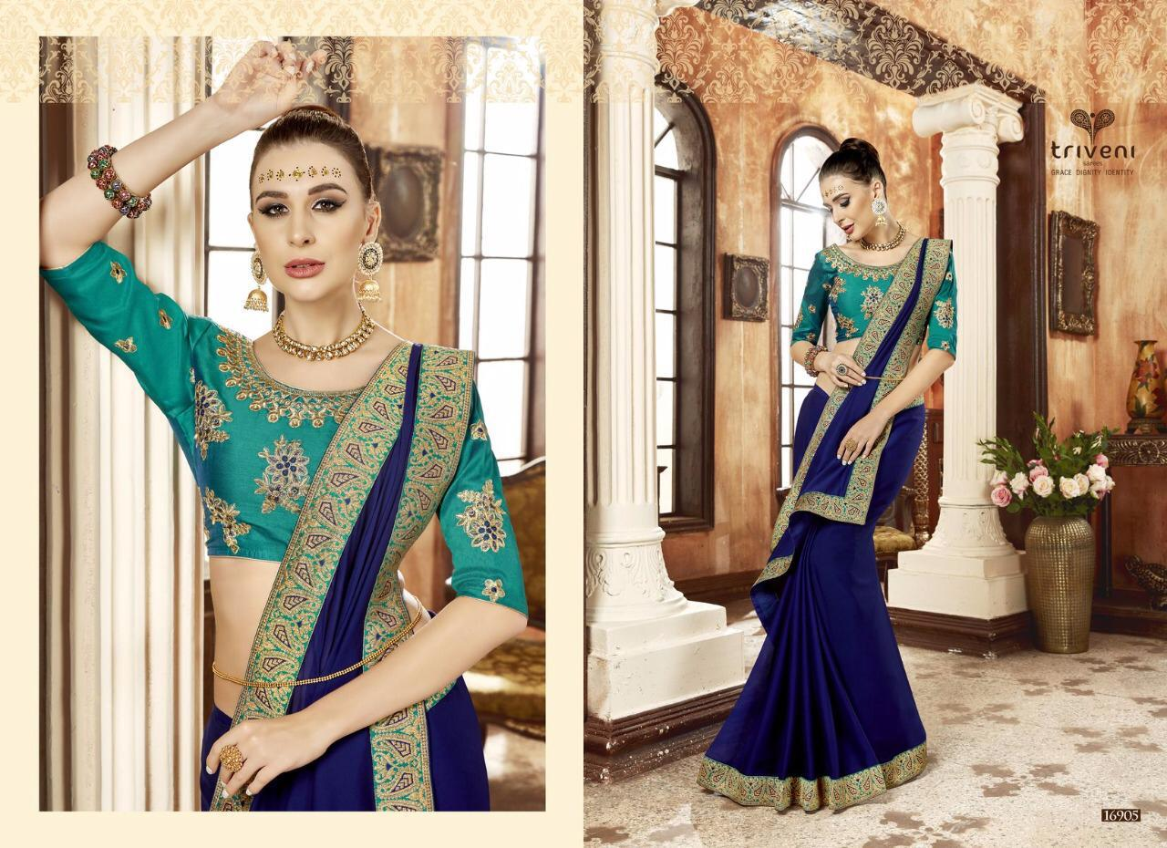 a595eb0f2c Fabric =Chiffon Party Wear Lace Work Saree Work= Border- Lace & Blouse Work  Singal Multiple Available Also Harga 1100 jt