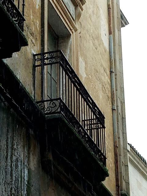 Cáceres Casa de las Culebras balcón