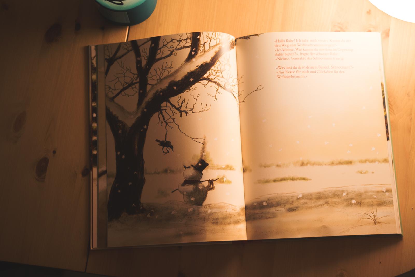 Rezension, Kinderbuch, Weihnachten, Neu, Dedieu, Aracari, Buchblog, Weihnachtsmann, Kinder, Halbleinen, Rezension