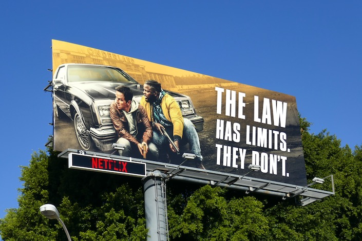 law has limits Spenser Confidential billboard