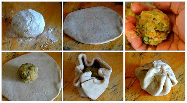 Stuffed Mixed Vegetable Paratha