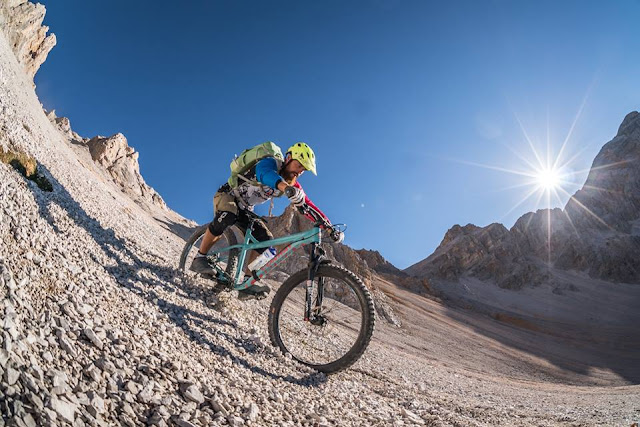 MTB - Ju de Senes / Sennesscharte Mountainbike Tour Bruneck