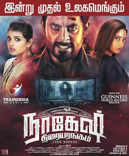 Nagesh Thiraiyarangam (2018) Tamil Movie 720p HDRip 1GB & 350MB