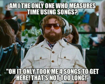 the only one who measures time using songs, guy from hangover, hangover movie meme