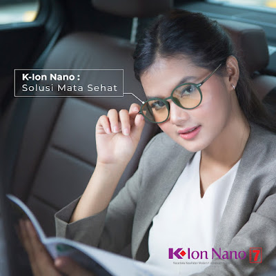 k-ion nano premium 7 kacamata terapi k-link terbaru