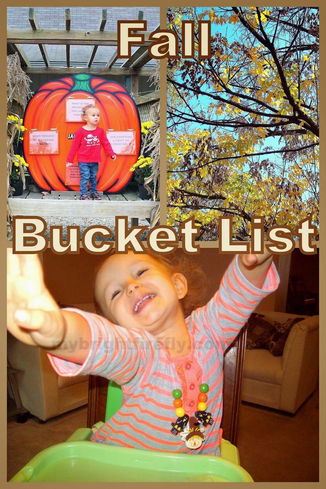 My Bright Firefly Fall Kids Activities Our Bucket List
