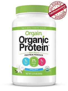 أفضل مسحوق بروتين نباتى عضوى