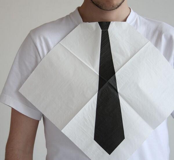 creative napkin design