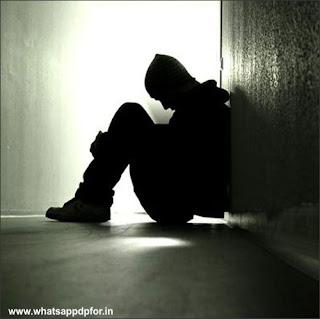 sad pic of boy in love