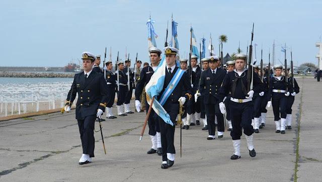 Ceremonia 84º aniversario de la Fuerza de Submarinos Argentina