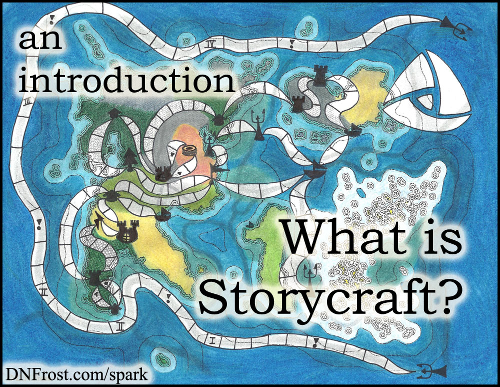 What is Storycraft? An introduction to the art of storytelling http://www.dnfrost.com/2014/10/what-is-storycraft.html #TotKW Inspiration and spark by D.N.Frost @DNFrost13 Part 1 of a series.