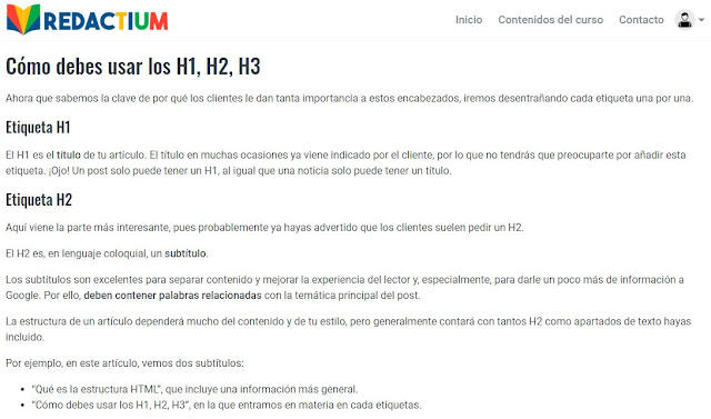 ejemplo modulo curso redactor de contenidos redactium_com