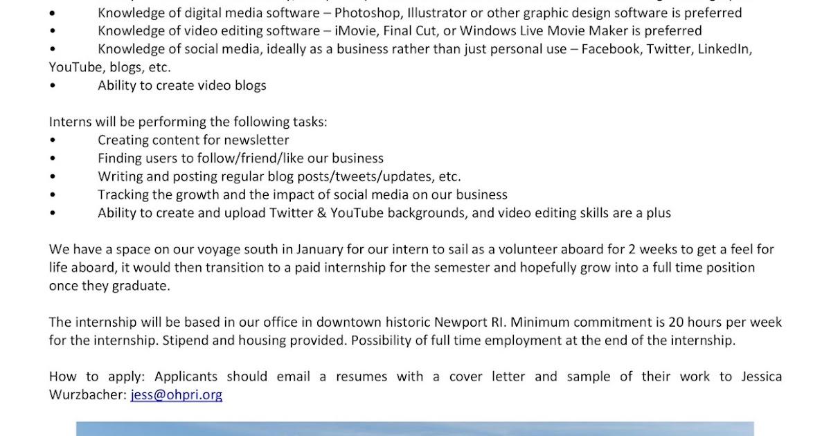 URI CBA Internship/Job Information: Oliver Hazard Perry ...