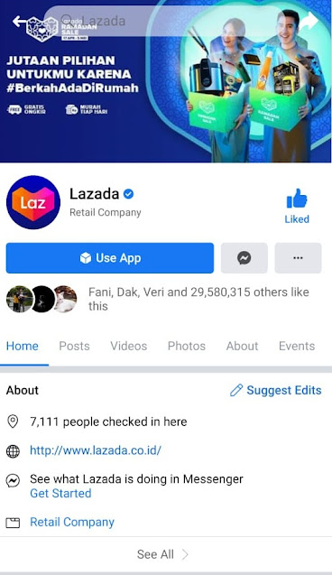 Facebook Lazada Indonesia (@Lazada)
